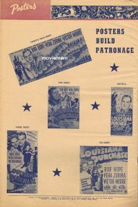 NEW SIZE Daybill Movie Posters – the change to the new format in 1941 image