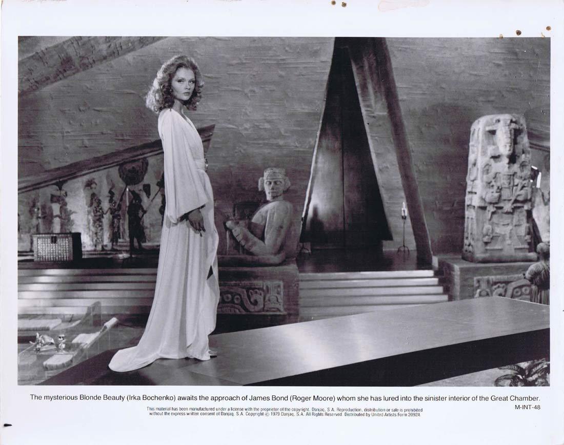 MOONRAKER Original Movie Still 3 James Bond Irka Bochenko
