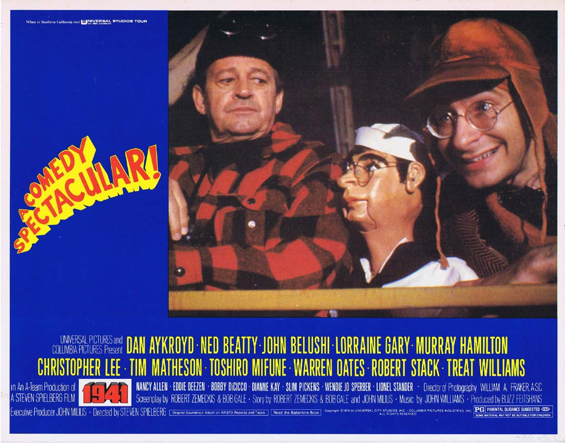 1941 Original Lobby Card 3 Dan Aykroyd Ned Beatty Steven Spielberg