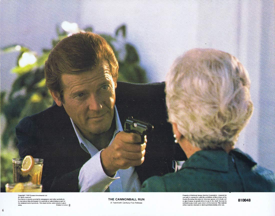 THE CANNONBALL RUN Lobby Card 6 Burt Reynolds Roger Moore