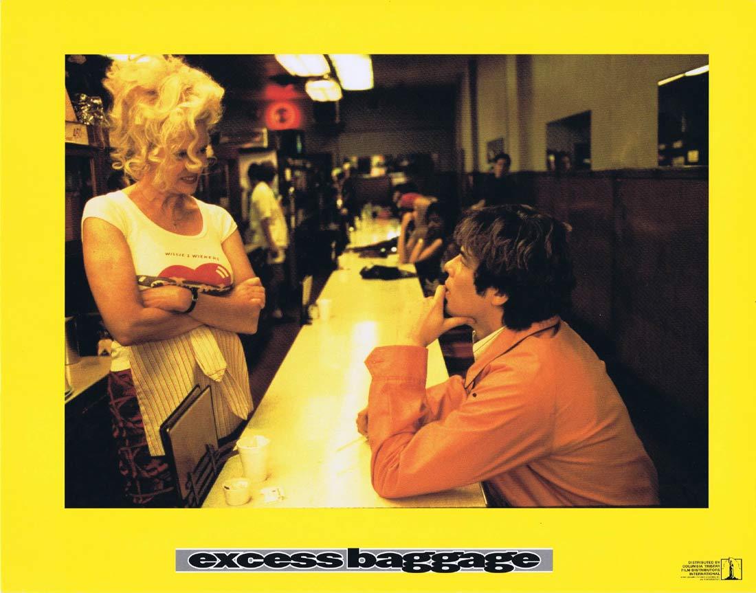EXCESS BAGGAGE Original Lobby Card 2 Alicia Silverstone Benicio del Toro
