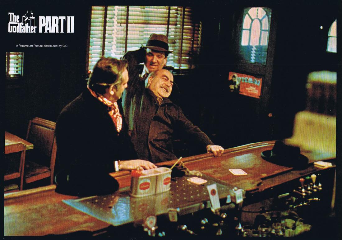 THE GODFATHER PART II Original Colour Movie Still 2 Al Pacino