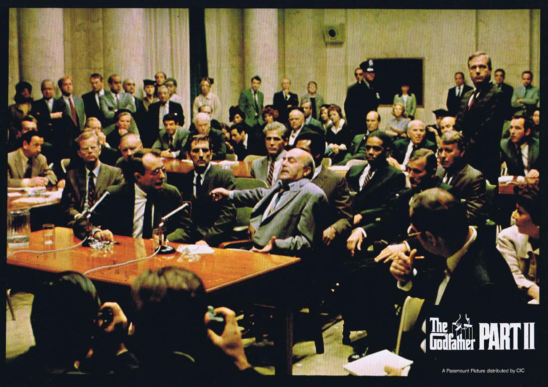 THE GODFATHER PART II Original Colour Movie Still 3 Al Pacino