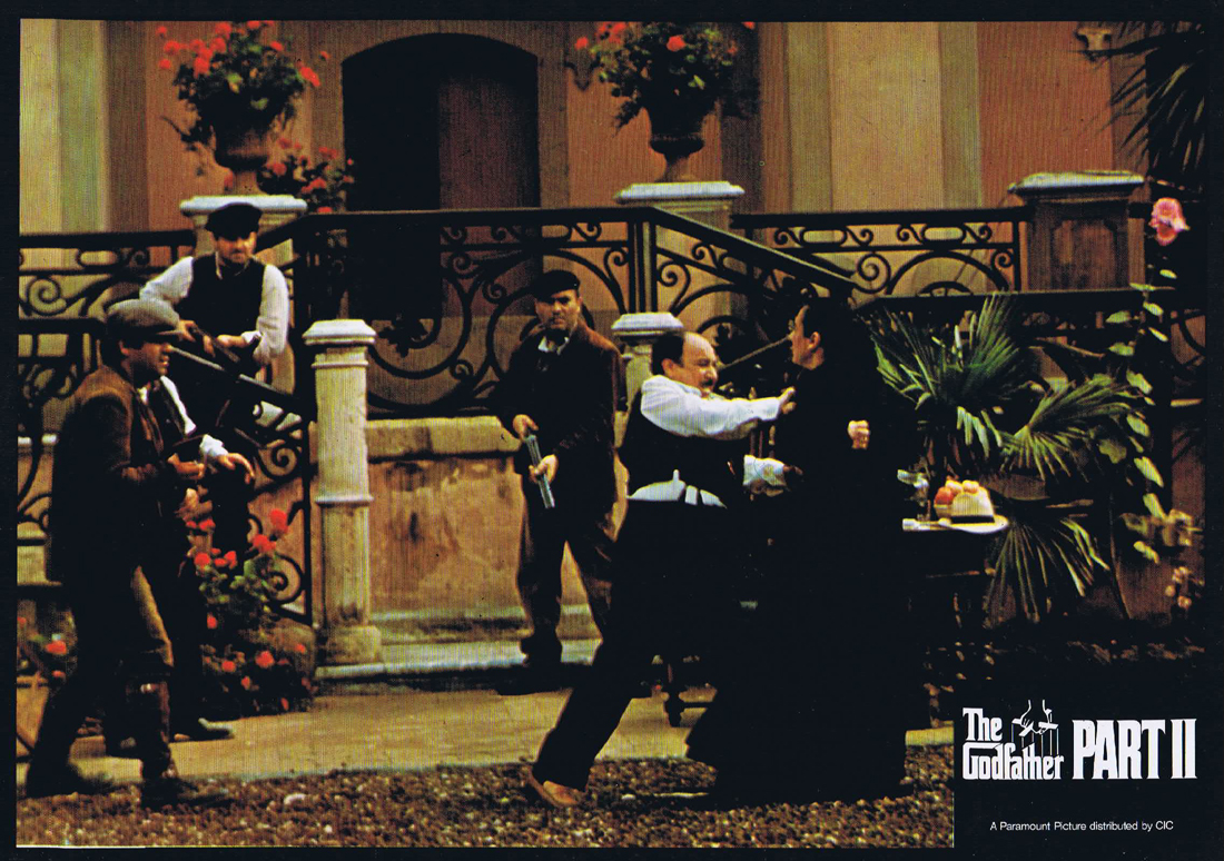 THE GODFATHER PART II Original Colour Movie Still 9 Al Pacino
