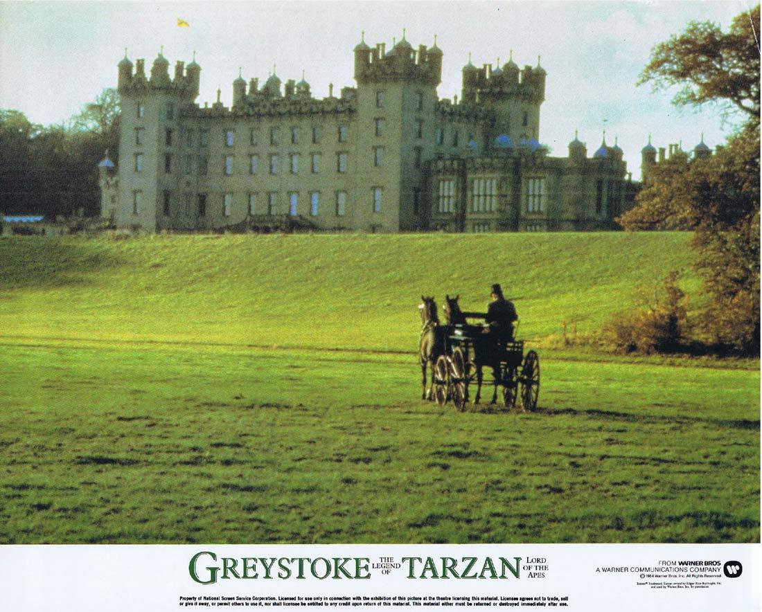 GREYSTOKE THE LEGEND OF TARZAN Original Lobby Card 1 Christopher Lambert