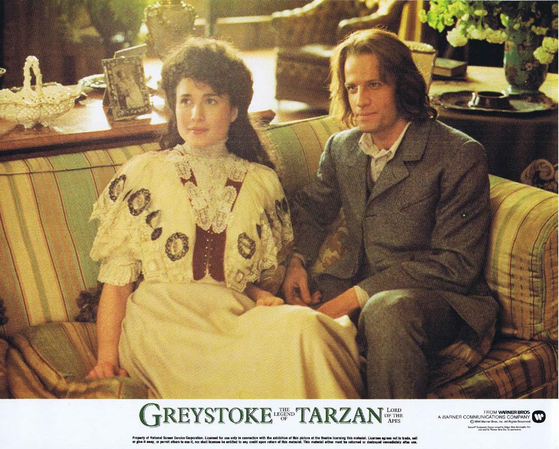 GREYSTOKE THE LEGEND OF TARZAN Original Lobby Card 2 Christopher Lambert