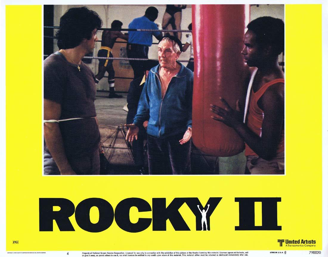 ROCKY II 1979 Sylvester Stallone ORIGINAL US Lobby card 4
