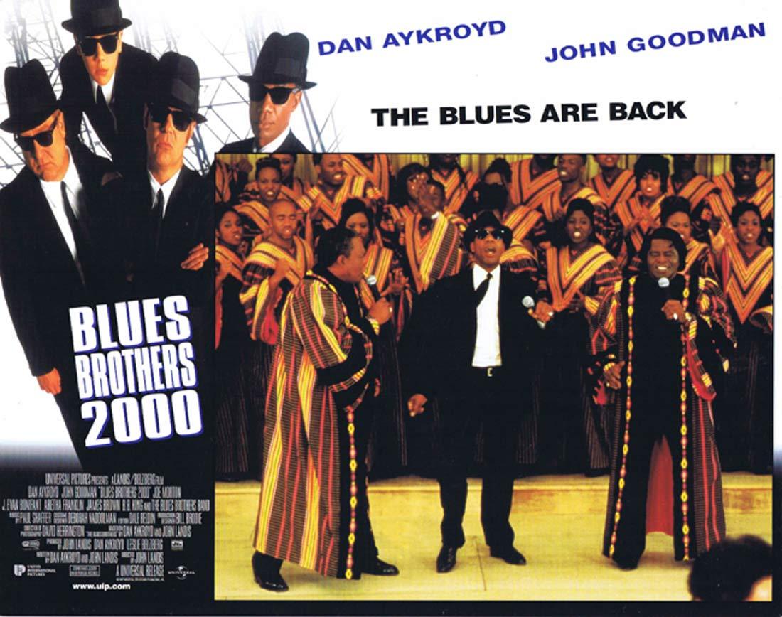 THE BLUES BROTHERS 2000 Original Lobby Card 1 Dan Aykroyd John Goodman
