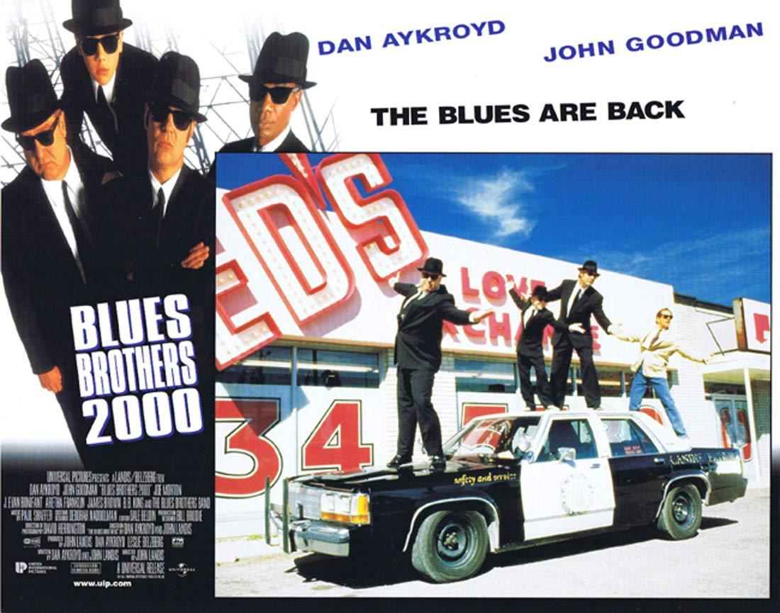 THE BLUES BROTHERS 2000 Original Lobby Card 7 Dan Aykroyd John Goodman