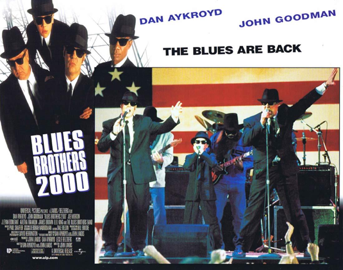 THE BLUES BROTHERS 2000 Original Lobby Card 3 Dan Aykroyd John Goodman