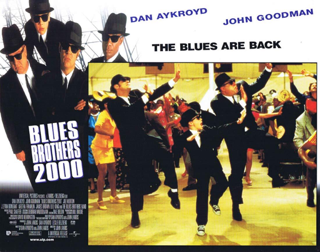 THE BLUES BROTHERS 2000 Original Lobby Card 4 Dan Aykroyd John Goodman