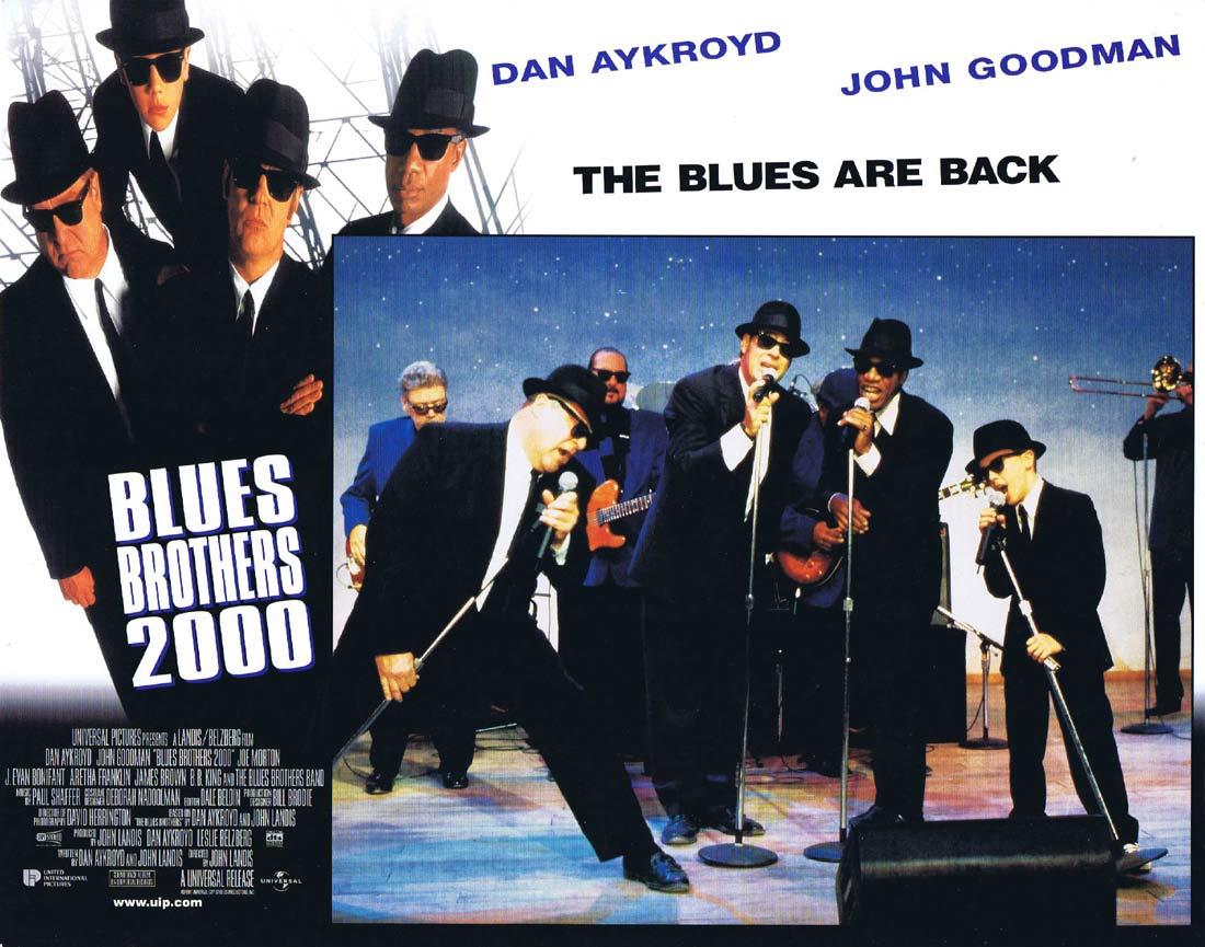 THE BLUES BROTHERS 2000 Original Lobby Card 5 Dan Aykroyd John Goodman