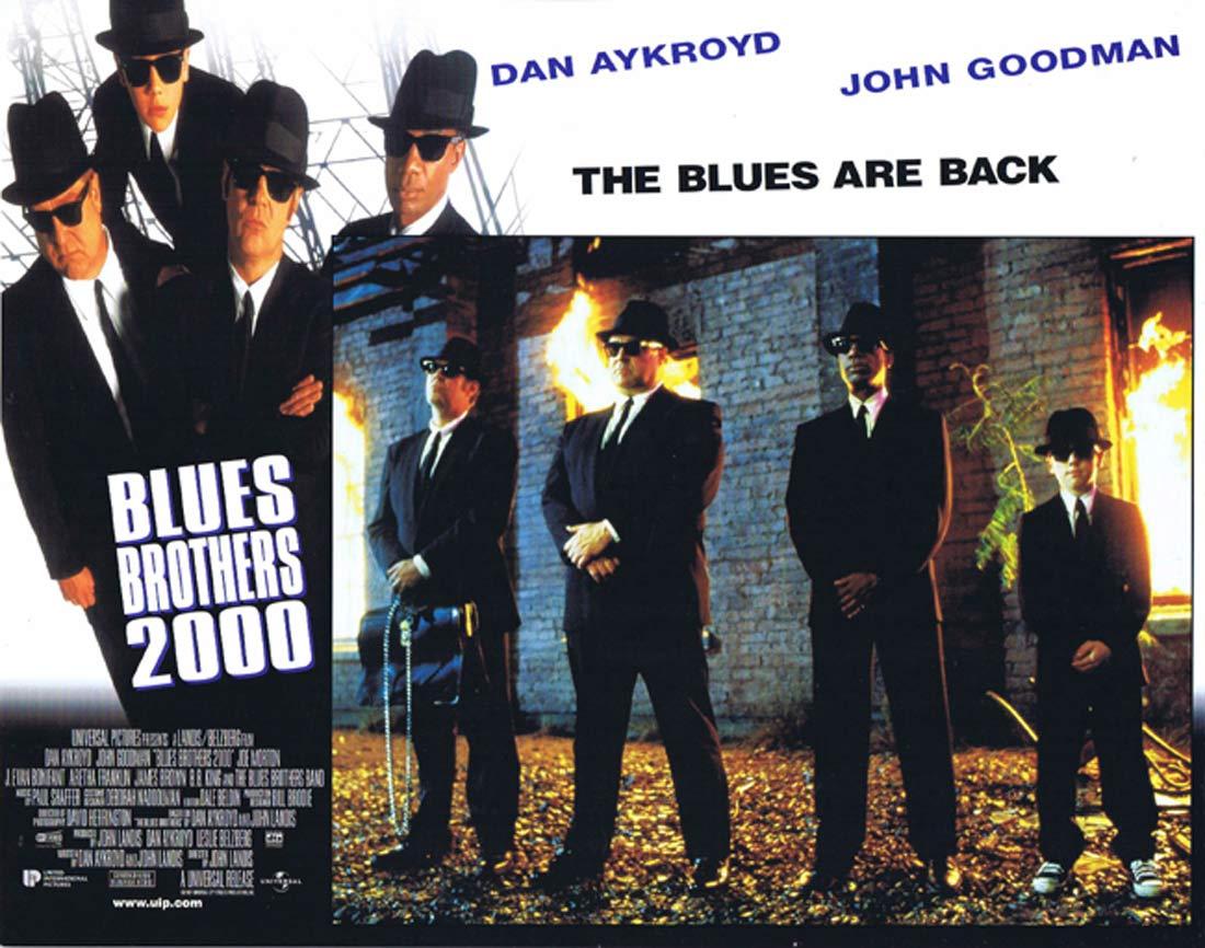 THE BLUES BROTHERS 2000 Original Lobby Card 6 Dan Aykroyd John Goodman