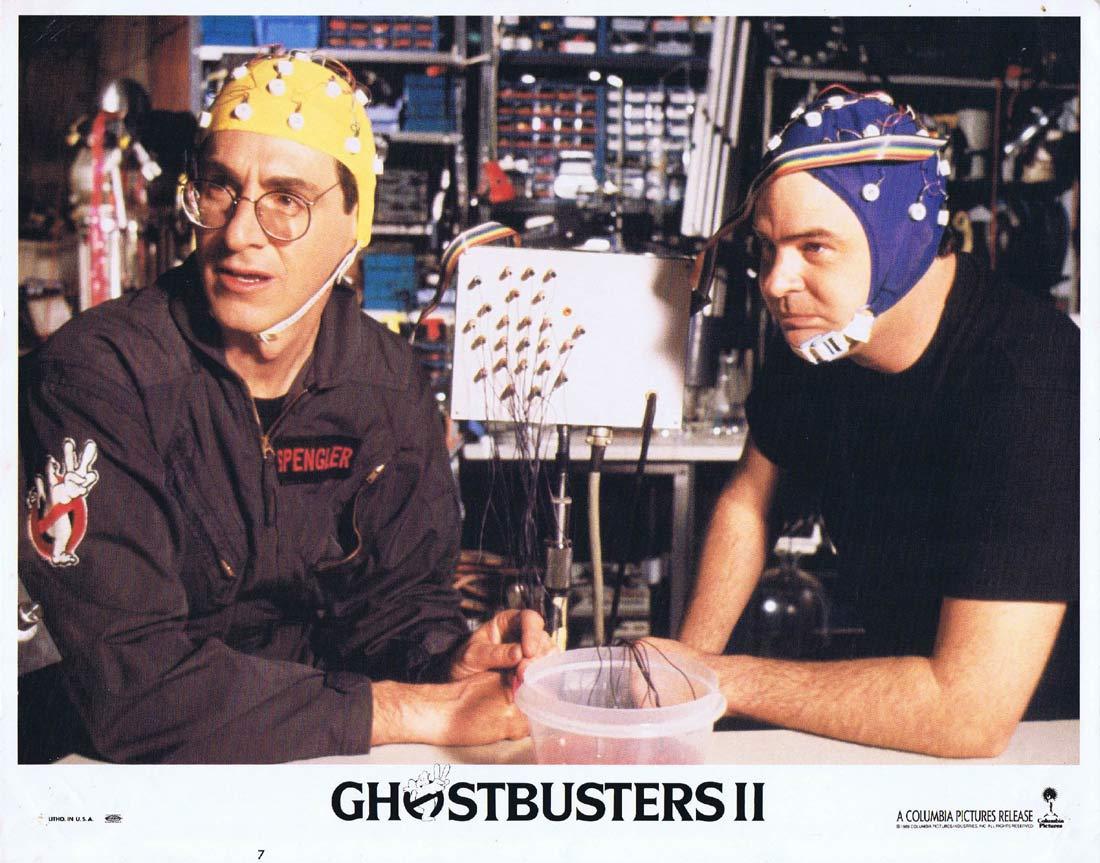 GHOSTBUSTERS II Lobby Card 7 Bill Murray Dan Aykroyd