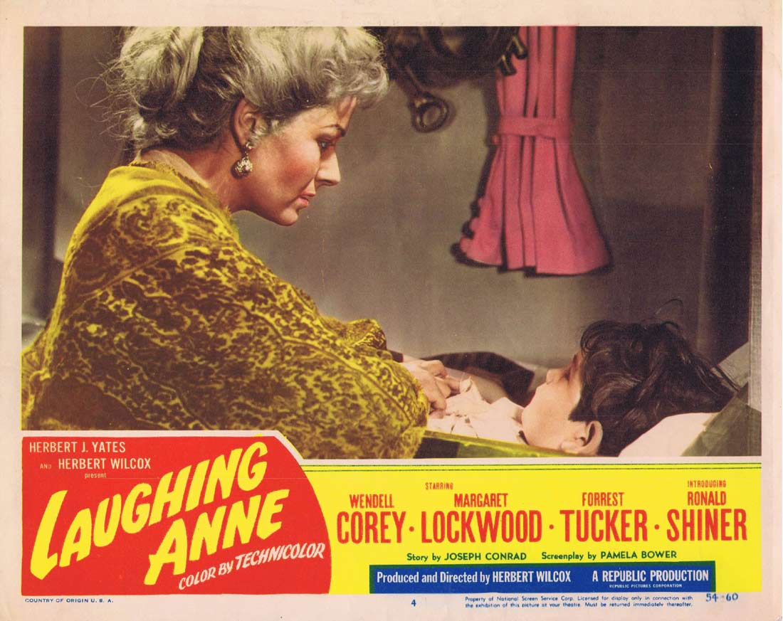 LAUGHING ANNE Vintage Lobby Card 4 Margaret Lockwood Wendell Corey
