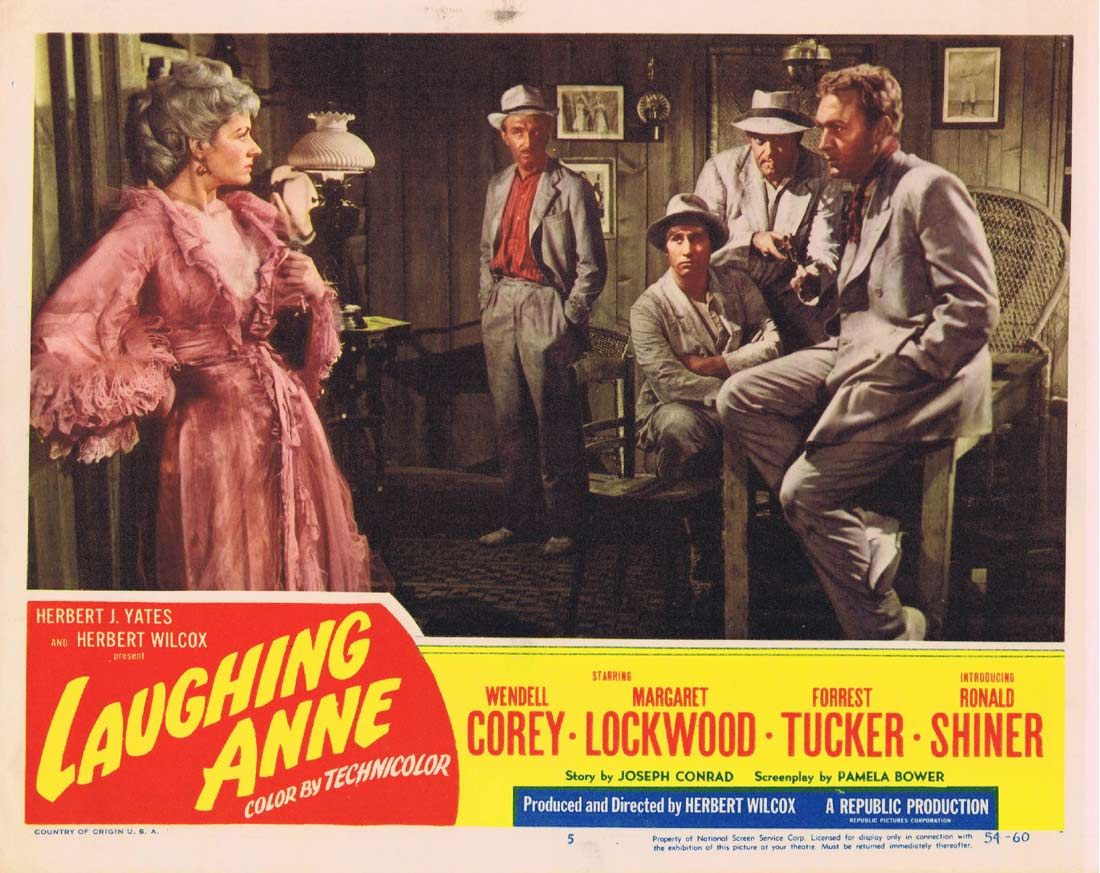 LAUGHING ANNE Vintage Lobby Card 5 Margaret Lockwood Wendell Corey