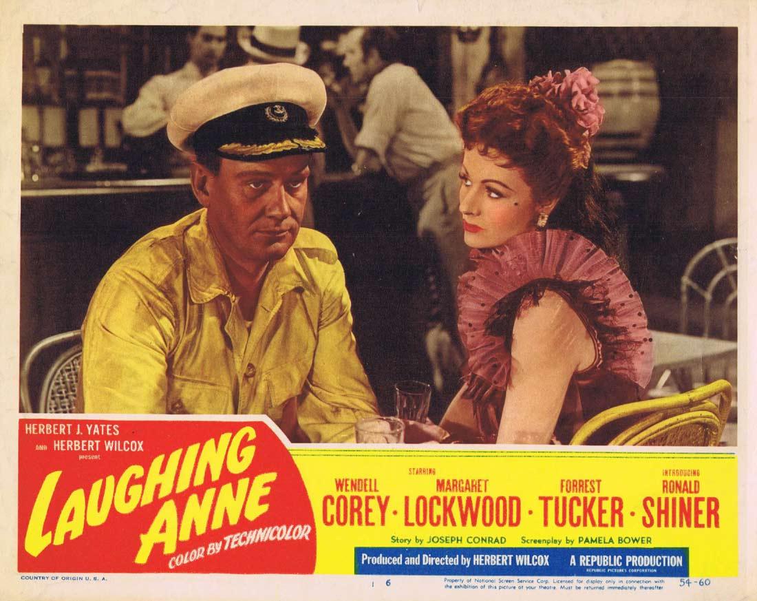 LAUGHING ANNE Vintage Lobby Card 6 Margaret Lockwood Wendell Corey