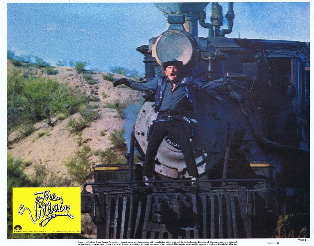 THE VILLAIN aka CACTUS JACK Original Lobby card 4 Kirk Douglas Arnold Schwarzenegger 1979