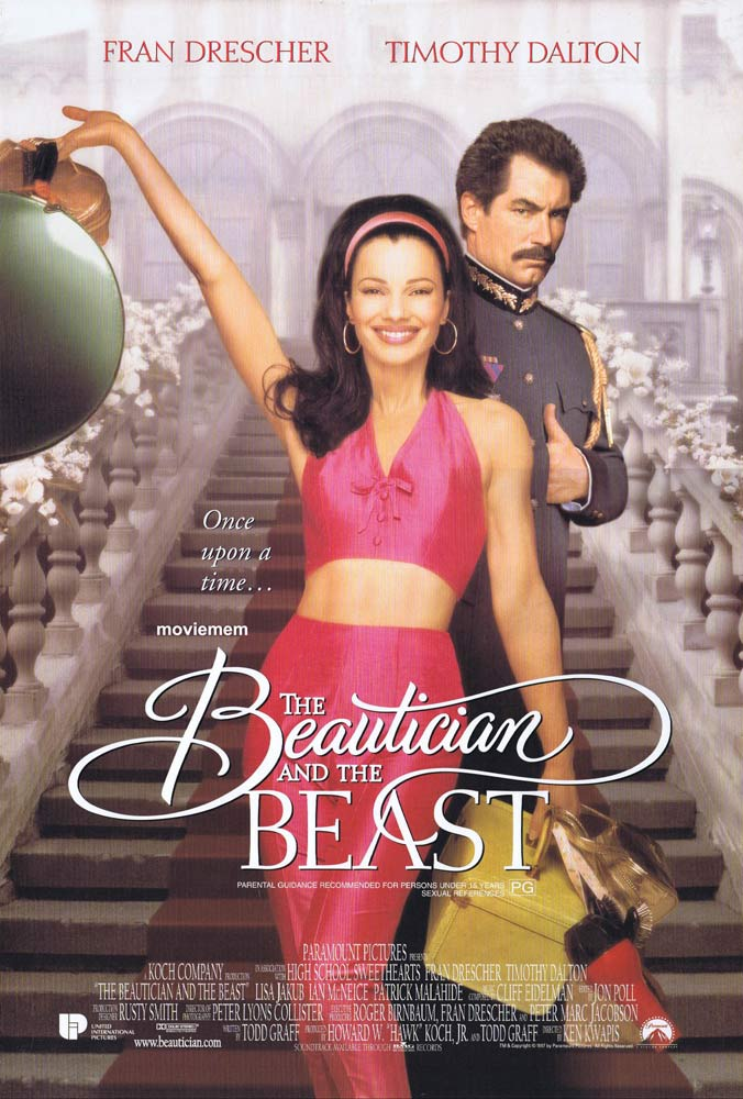 THE BEAUTICIAN AND THE BEAST Double Sided Daybill Movie Poster Fran Drescher