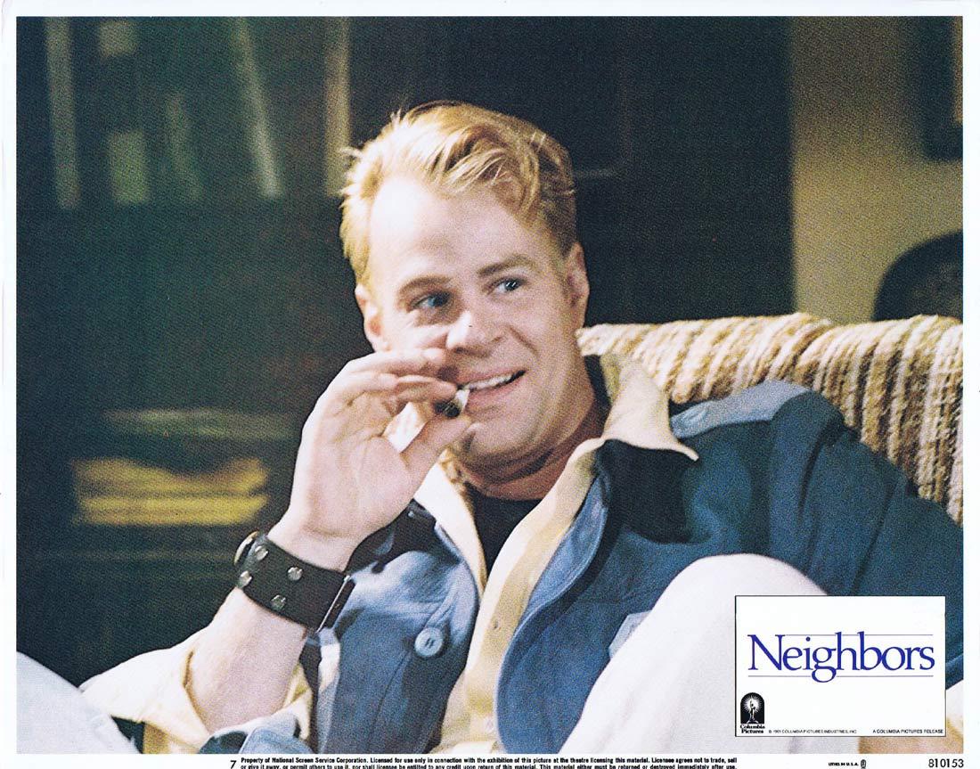 NEIGHBORS Original US Lobby Card 7 John Belushi Dan Aykroyd