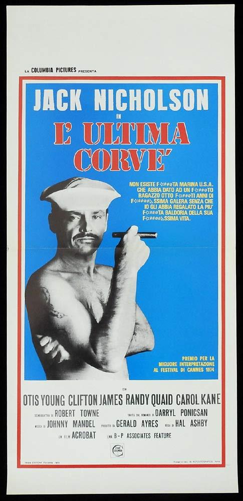 THE LAST DETAIL Original Locandina Movie Poster Jack Nicholson Randy Quaid